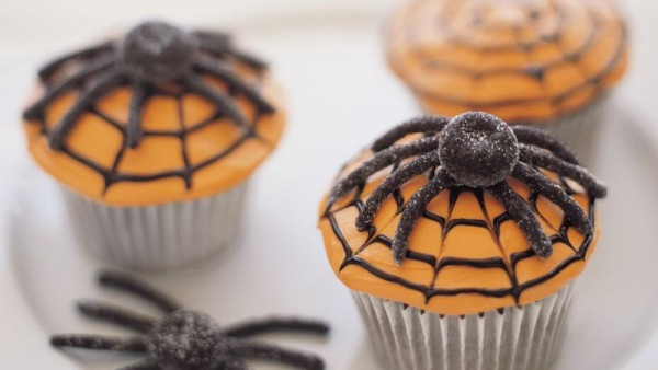 Spiderweb Cupcakes Recipe