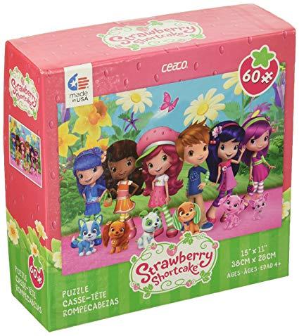 Amazon Com  Ceaco Strawberry Shortcake Friends & Pets Puzzle (60