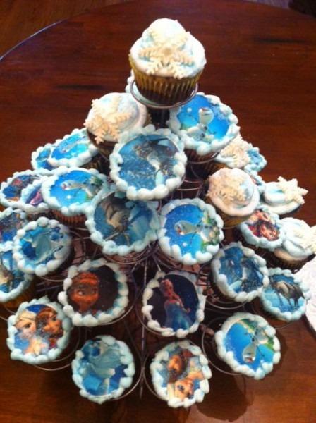 Frozen Cupcakes By Kelly's Cakes Atlanta