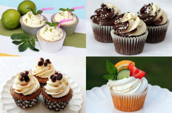 9 Adult Cupcakes With Alcohol Photo