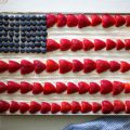 American Flag Cake Cool Whip