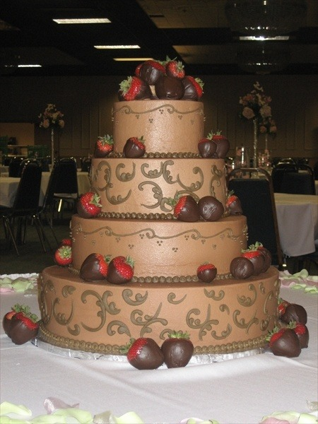 The Cakery Bakery – St  Louis – Wedding Cakes  ) Chocolate