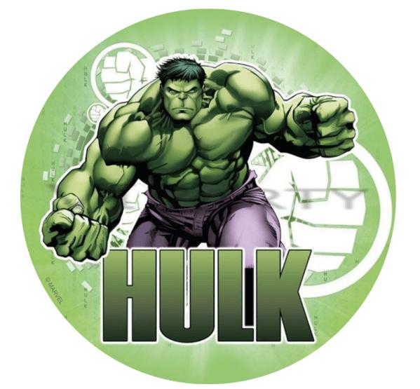 The Hulk Edible Cake Topper In 2019