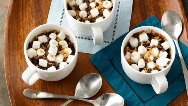 S'mores Mug Brownie Recipe