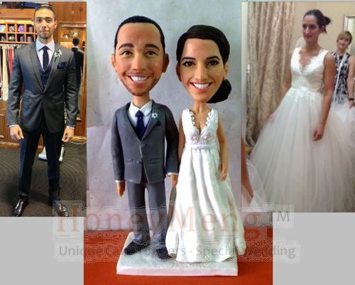 Cheap Custom Wedding Cake Toppers Head To Toe Personalized Made