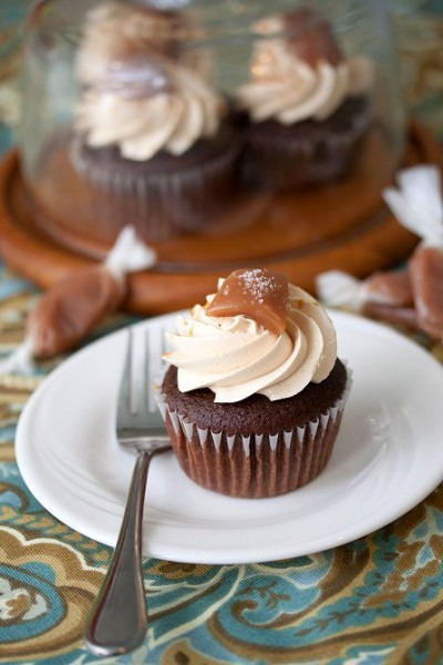 Chocolate Salted Caramel Cupcakes » Tide & Thyme