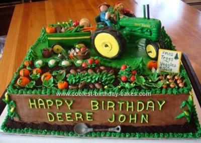 Coolest John Deere Tractor Cake