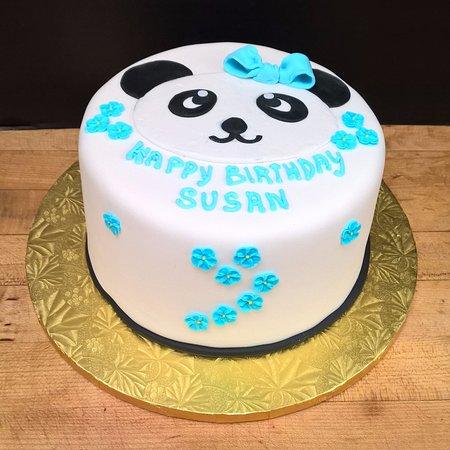 Cute Panda Bear Cake