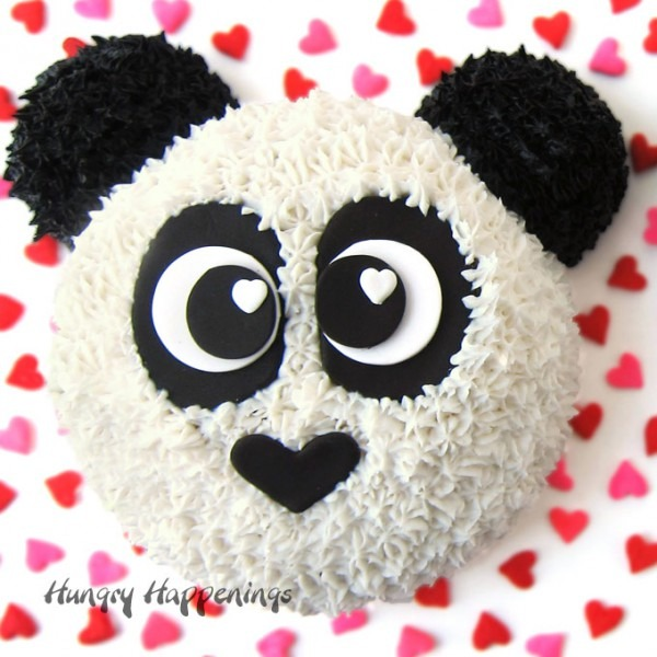 Panda Bear Cake Recipe And Instructions