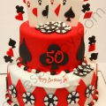 Casino Birthday Cakes