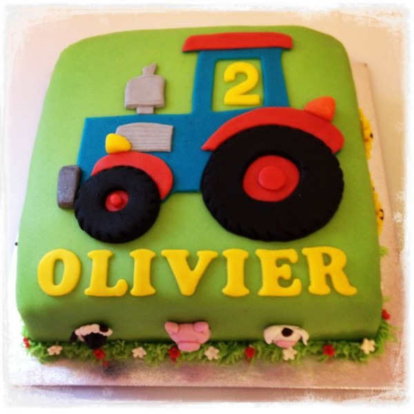 Tractor Cake …