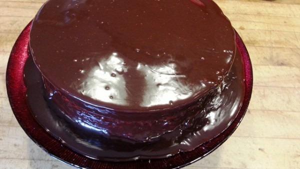 Recipe  Jala Jala Chocolate Chocolate Ganache Cake With Fresa Fire