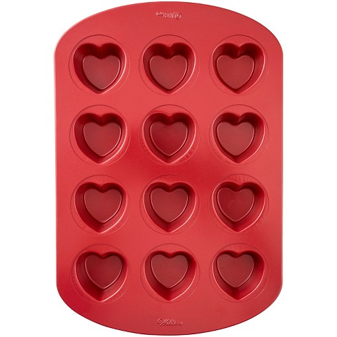 10 4  X 10 1  Steel Heart Muffin Pan