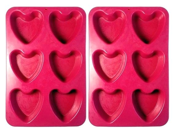 Heart Shaped Cupcake Pans Image 0 Muffin Pan Recipes Mini