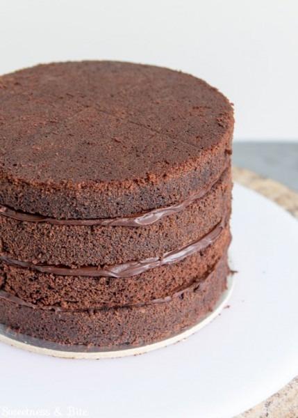 How To Ganache A Cake ~ Tutorial