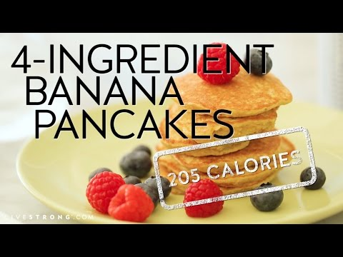 How To Make 4 Ingredient Banana Pancakes