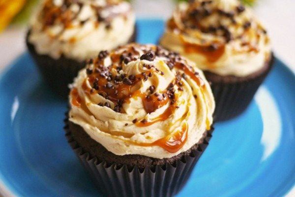 Chocolate And Salted Caramel Cupcakes Recipe