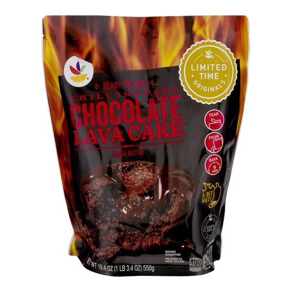 Ahold Chili Infused Chocolate Lava Cake From Stop & Shop