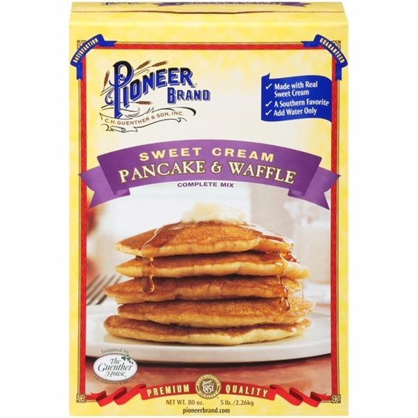Pioneer Brand Sweet Cream Complete Pancake & Waffle Mix (80 Oz