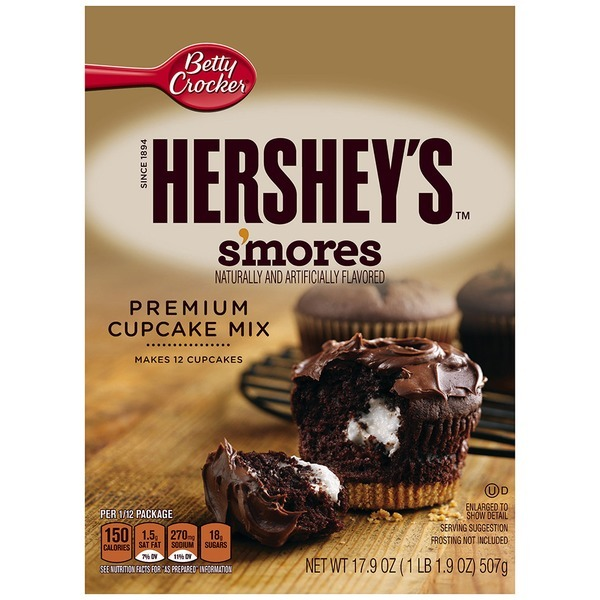 Betty Crocker Hershey's S'mores Cupcake Mix (17 9 Oz) From Ralphs
