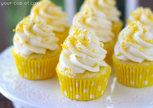 11 Lemon Cupcakes From Cake Mix Photo