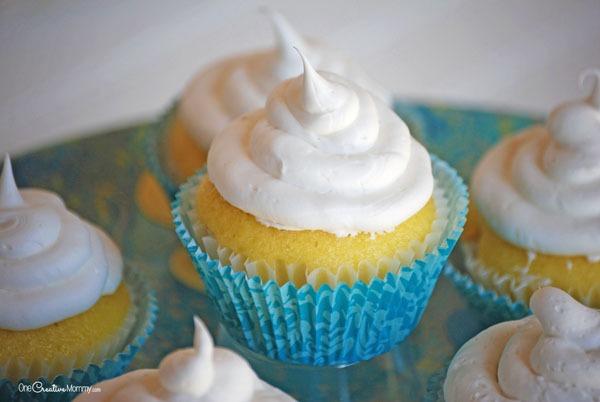 Gluten Free Lemon Pound Cake Cupcakes