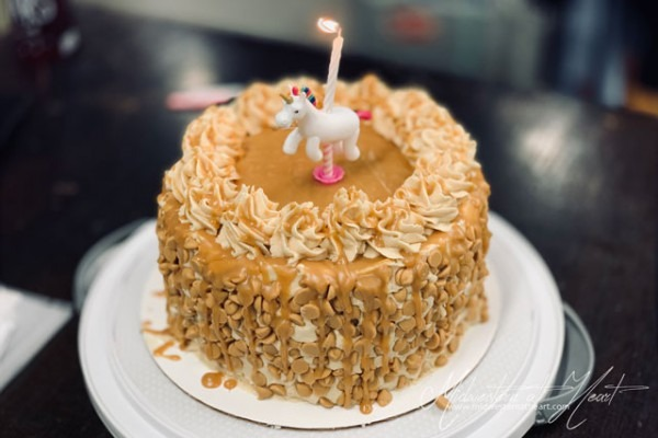 Loaded Peanut Butter Layer Cake