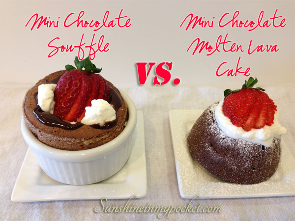Taste Test Tuesday — Chocolate Molten Lava Cake Recipe (versus