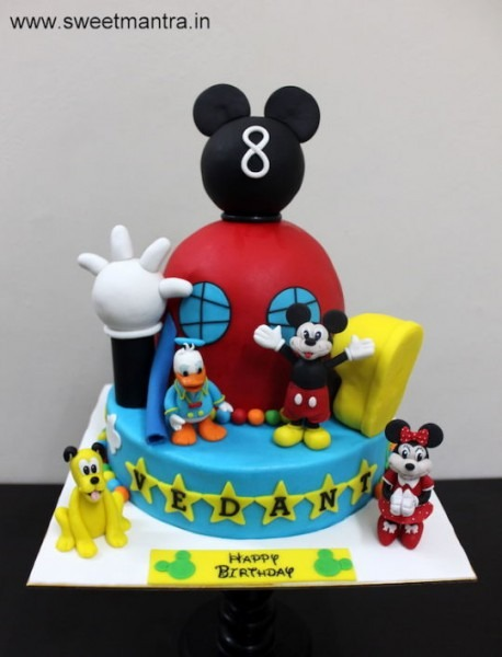 Disney Mickey Mouse Clubhouse Theme 2 Layer Customized Designer
