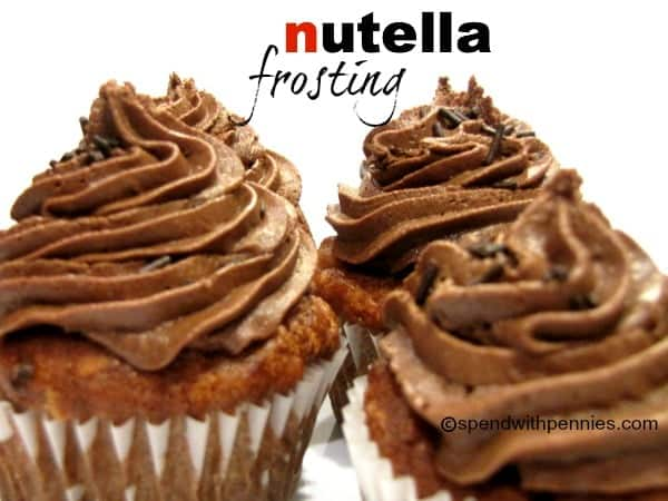 Nutella Frosting Recipe… Easy And Delicious!