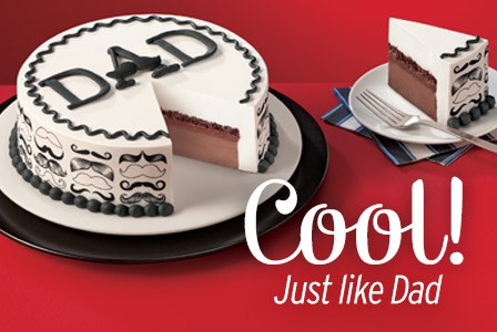 Father's Day Dairy Queen Cakes