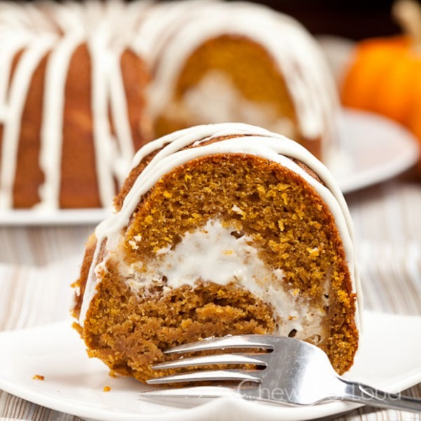Pumpkin Cream Cheese Bundt Cake Recipe