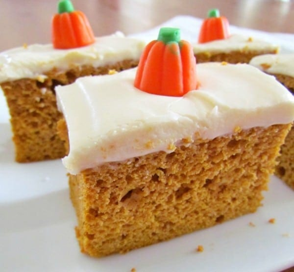 Quick And Easy Pumpkin Spice Cake