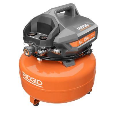 Ridgid 6 Gal  Portable Electric Pancake Air Compressor – Brickseek