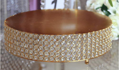 Round 18  Crystal Cake Stand
