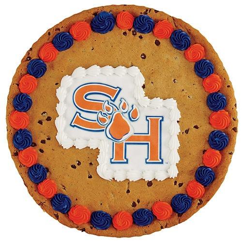 Sam Houston Chocolate Chip Cookie Cake ‑ Shop Custom Cakes At H‑e‑b