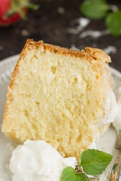 Coconut Cream Cheese Pound Cake   Call Me Pmc