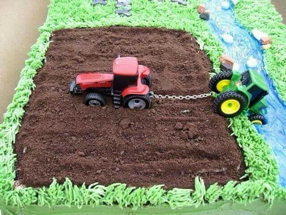 Tractor Cakes Pictures Over 30 Awesome Cake Ideas Kitchen Fun With