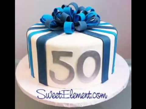 Birthday Cake Decor Ideas For Men