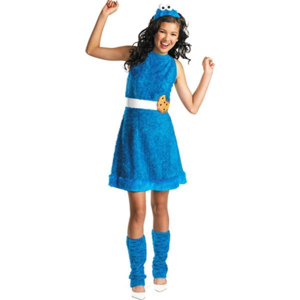 This Is A Cookie Monster Costume From Party City!