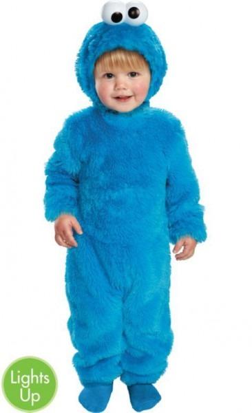 Light Up Sesame Street Cookie Monster Costume For Toddler Boys