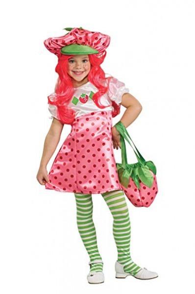 Amazon Com  Strawberry Shortcake Deluxe Children's Costume, Small