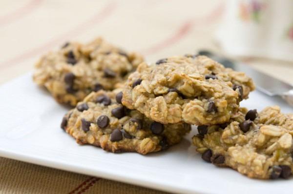 Peaceful Plate Banana, Oatmeal, & Chocolate Chip Cookies