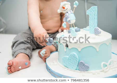 Cute Little Boy Eating His First Stock Photo (edit Now) 796481356