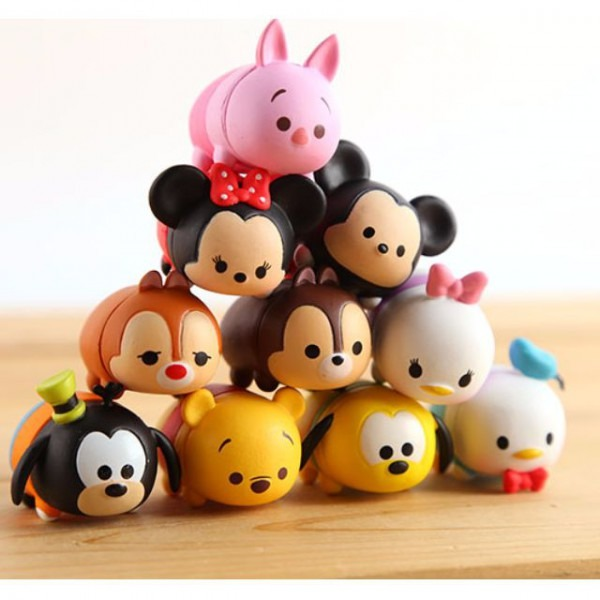 Disney Tsum Tsum Figurines   Cake Toppers (10 Pcs A Set) On Carousell
