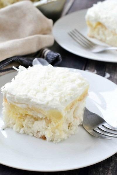 Coconut Poke Cake Paula Deen