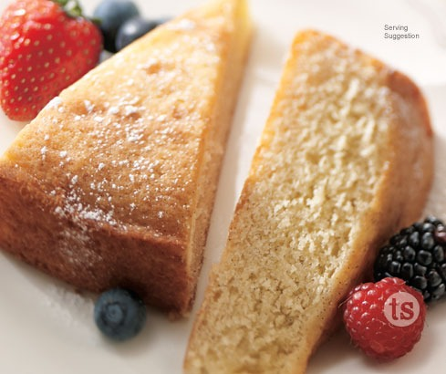 Gluten Free Vanilla Bean Pound Cake Mix Preparation