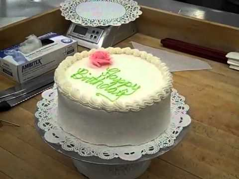 8 Inch Birthday Cake Part 3