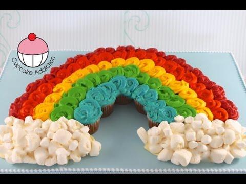 Cupcakes! Rainbow Cupcake Pull