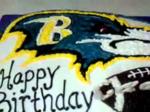 Baltimore Ravens Birthday Cake